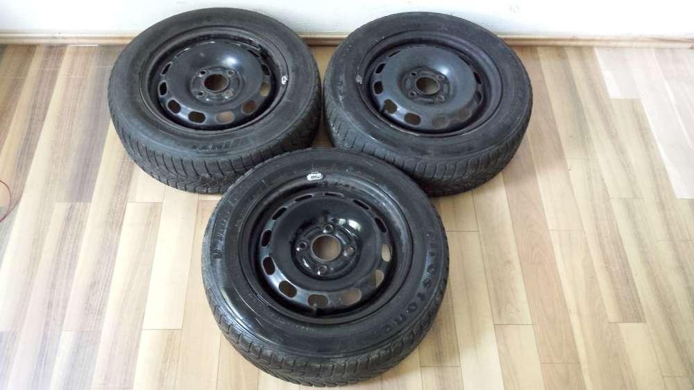 3 x Winterreifen Stahlfelgen für Ford Fiesta 5.5J x 14 ET : 47.5 175 / 65 R14 82T M+S
