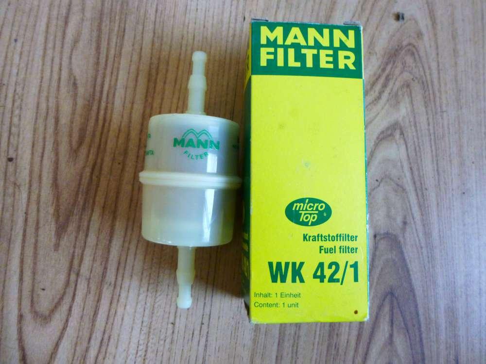 WK 42/1 Mann Filter Kraftstofffilter Mann & Hummel