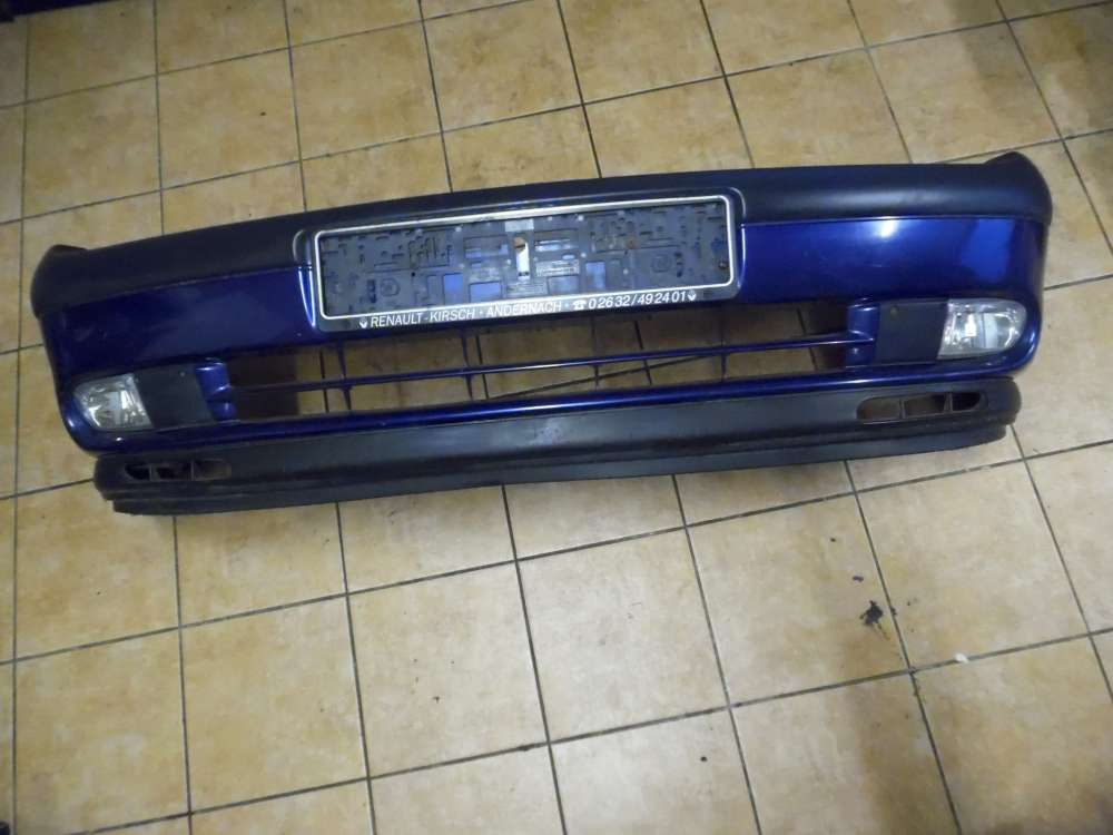 Renault Espace JE Bj:01 Stoßstange Stossfänger vorne Blau NV 432
