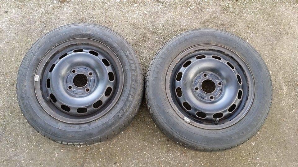 2xWinterreifen Stahlfelgen für Ford Fiesta 5.5Jx14  ET:47.5  175/65 R14 82T  4Loch