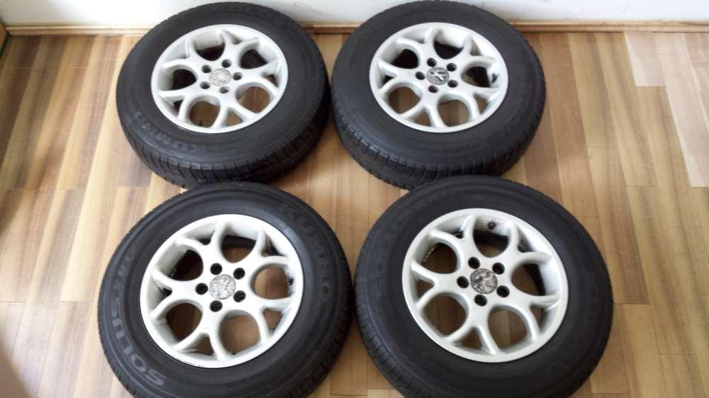 Alufelgen für VW Golf IV KBA 43943  6Jx14H2  ET:38  175/80 r14 88T  Kumho  5Loch