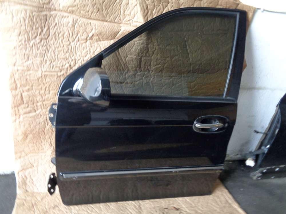 KIA Carnival Bj:05 2.9 CRDI Tür Vorne Links Farbe: 9P Midenight Black