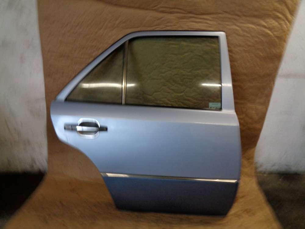 Mercedes Limousine W124 von:1991-bis:2002 Tür Hinten Rechts Hellblau