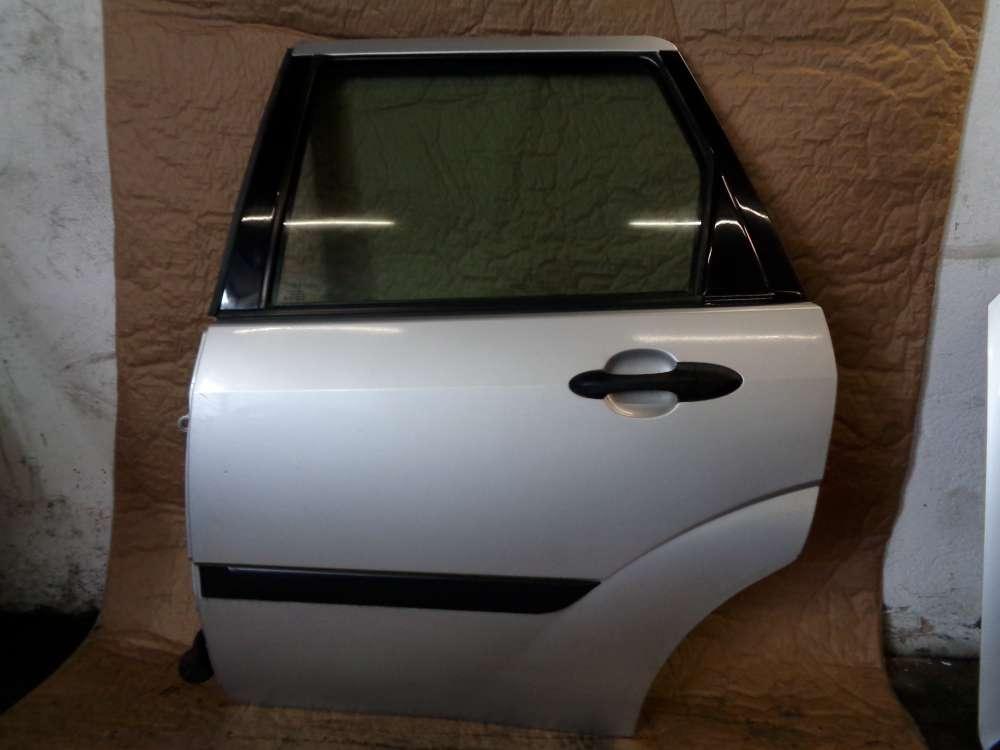 Ford Focus Kombi Tür Hinten Links Farbcode 08 Prolar Silber metellic