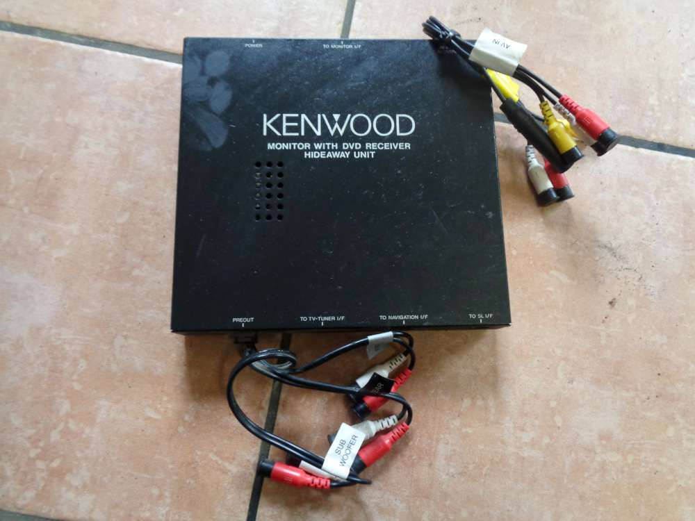 KENWOOD Monitor With DCD REceiver 2710408