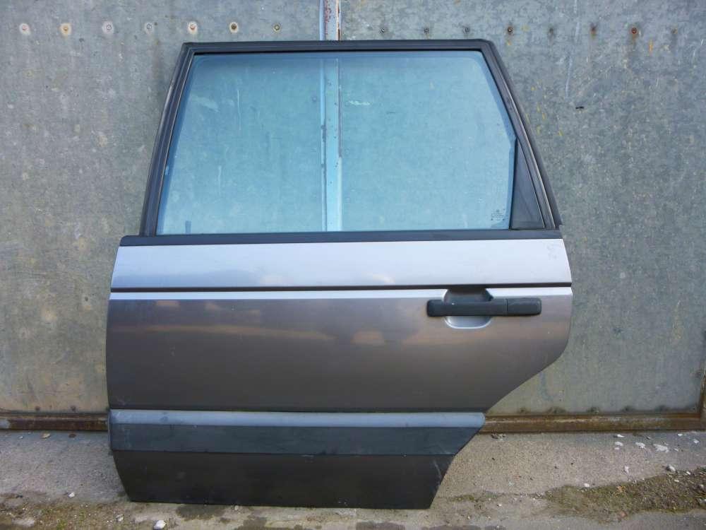 VW Passat 35i Variant von 1988 bis 1993 Tür hinten Links Farbe: Grau