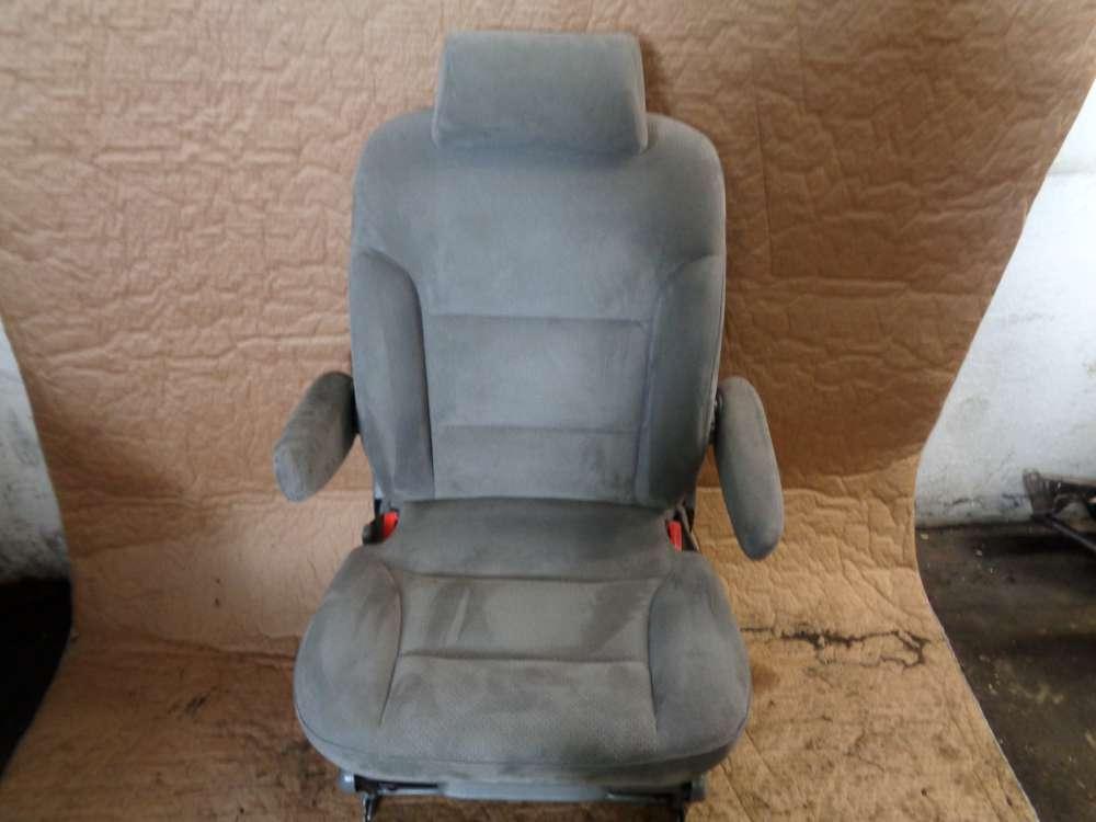 Lancia Zeta 2,0 Bj:1999 Sitz Hinten (1) Links stoff Farbe Grau