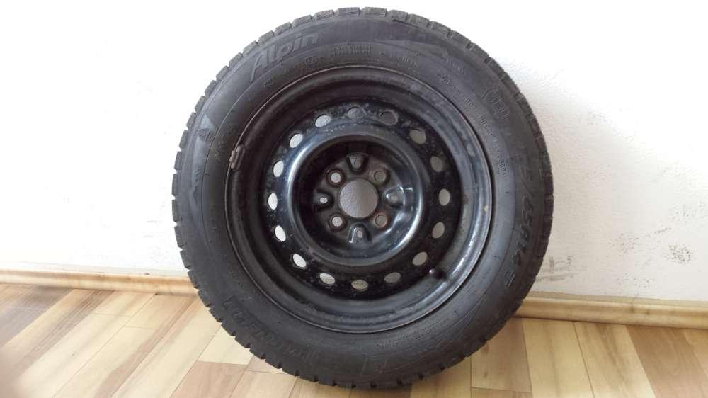 Wintererreifen Stahlfelgen Opel 175 / 65 R14 82T 5.5J x 14 H2 ET : 28 Michelin  4- Loch
