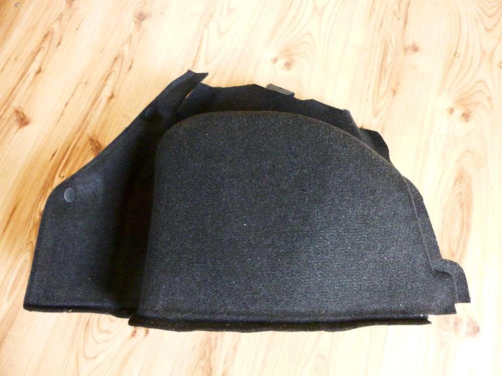 Ford Fiesta Kofferraum Verkleidung Seitenverkleidung schwarz Rechts 2S61A31149AD