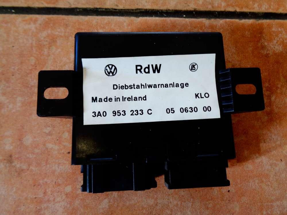 RdW DWA VW Corrado 3A0953233C Steuergerät Diebstahlwarnanlage Alarmanlage 53i