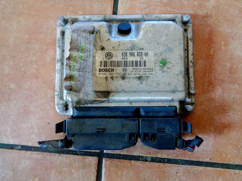 VW Polo 6N Bj:2000 Motorsteuergerät 0261206750 / 030906032AM