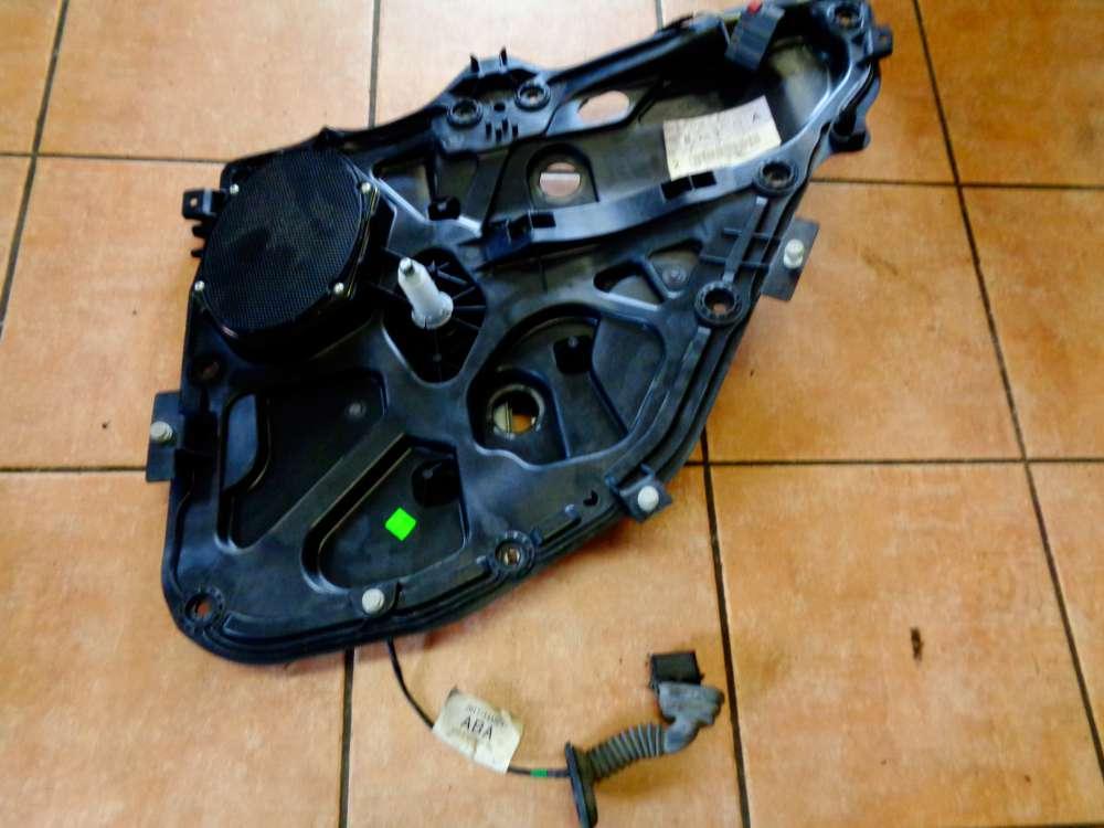 Ford Fusion JU2 5-türig Bj:04 Fensterheber manuell  Hinten Rechts M2N11N24994BY mit Kabelbaum 2N1T14A584ABA