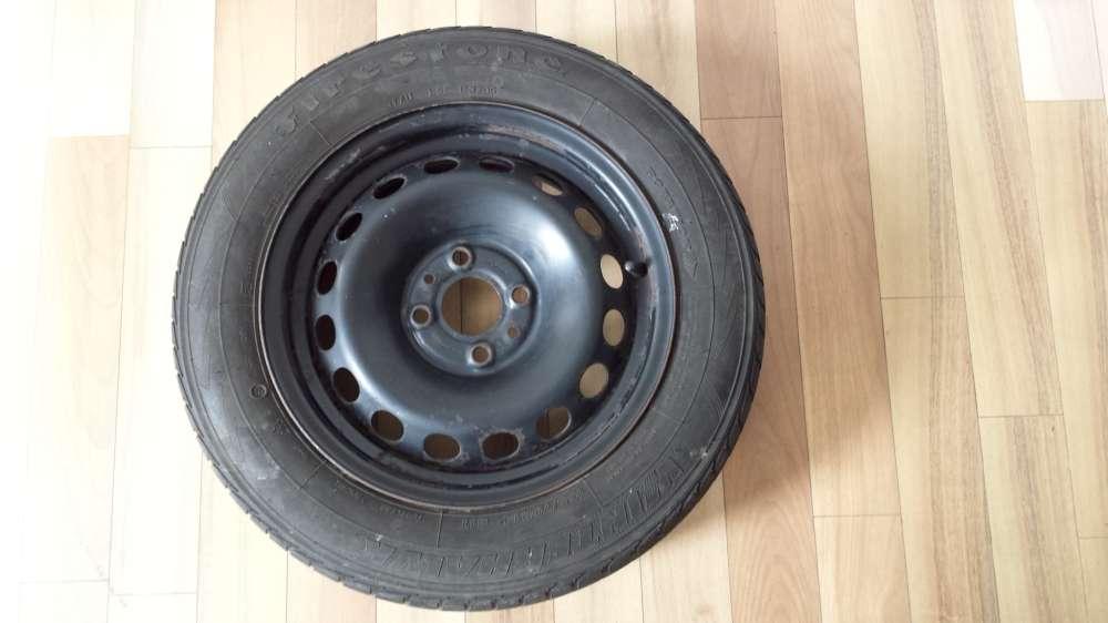 1x Winterreifen Stahlfelgen für Fiat Punto 165/70 R14 81T 5,5Jx14 ET35 Firestone