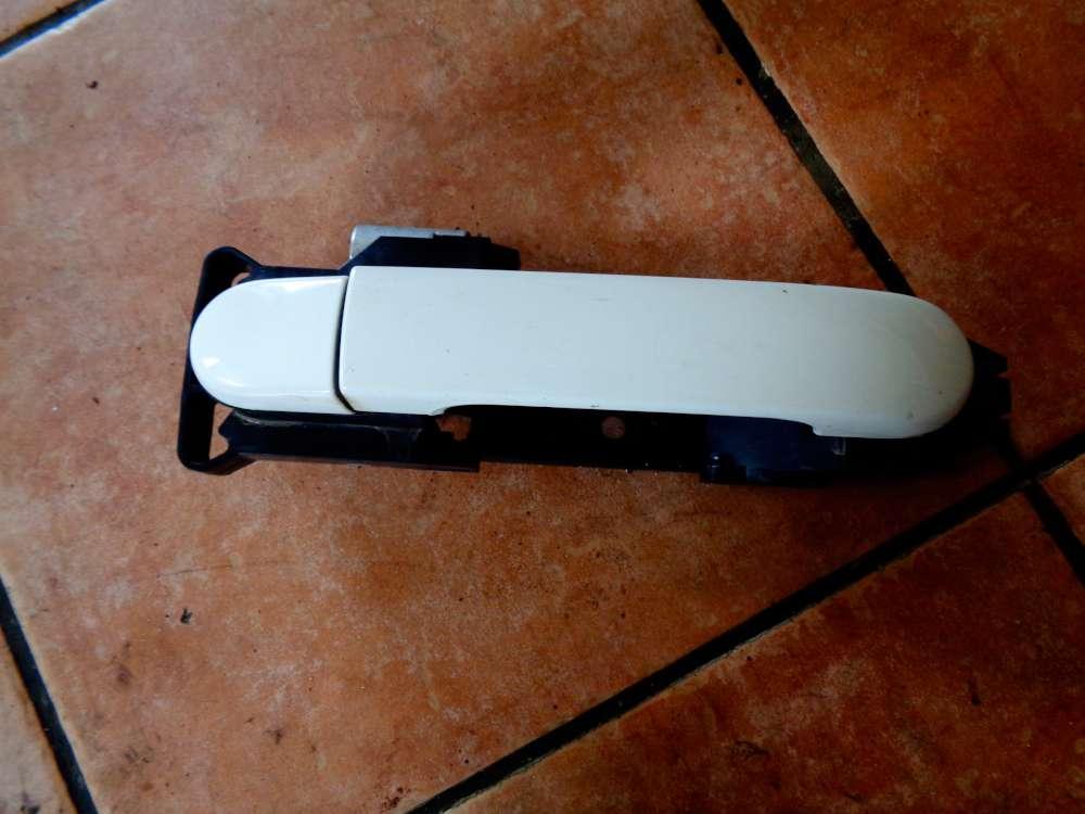 Nissan Note E11 Bj 2007 Türgriff außen Vorne Rechts Weiß Farbcode: Trim 326G