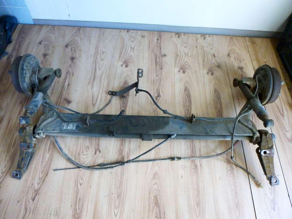 Renault Kangoo Bj 2002 Hinterachse Achse Hinten