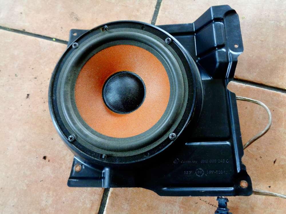 VW Polo 6N2 Lautsprecher Box Tür mit Halterung Vorne Links 3A005411A