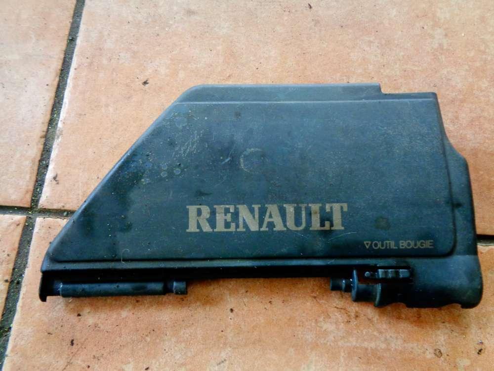 Renault Kangoo KC Sicherungskasten 7700874503 Abdeckung 7700871558