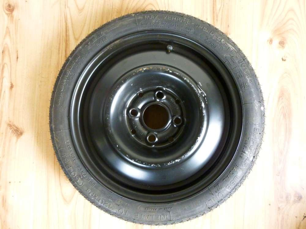 VW ,Seat Notrad Reservereife Reife Michelin  T105/70R14 84M  3,5Jx14H2  ET:38