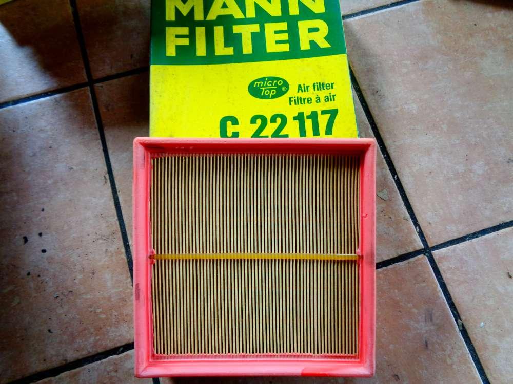 MANN-FILTER Luftfilter Motor Filter C 22117