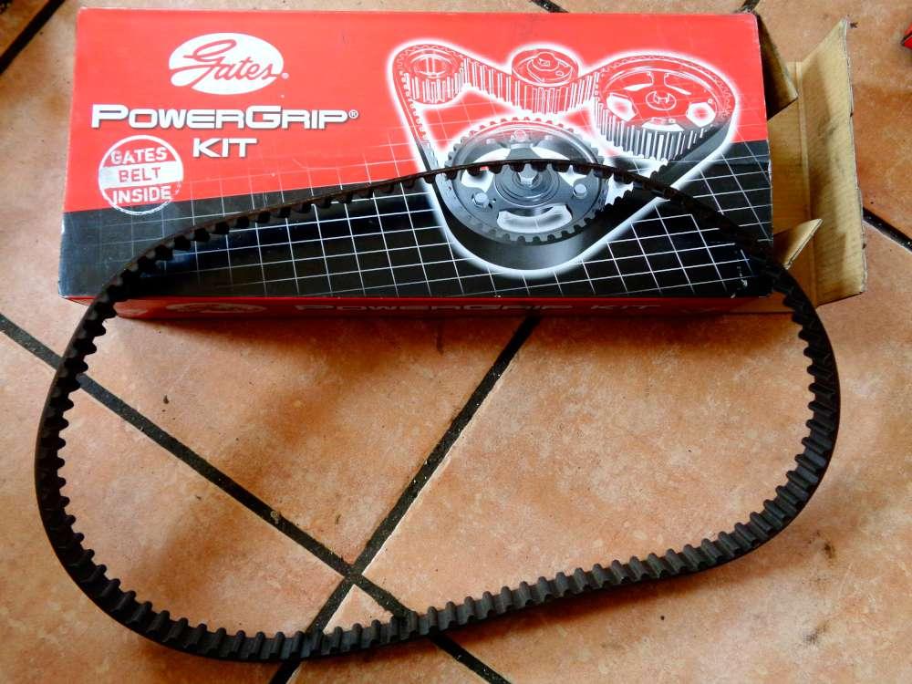 Zahnriemen Steuerriemen GATES Powergrip Kit K015574XS Für Peugeot, Citroen