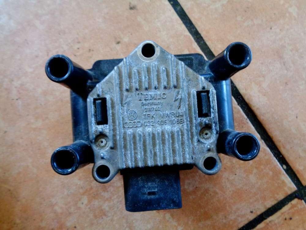 Audi A4 Bj:2002 Zündspule Zündmodul Zündverteiler 032905106B