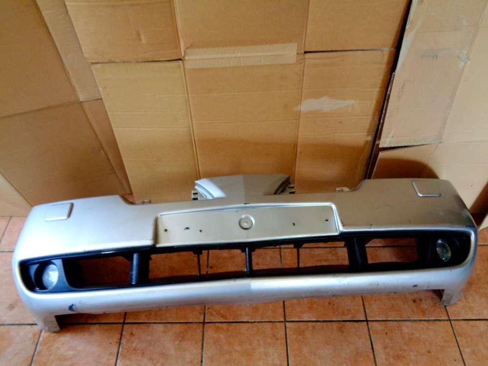 Nissan Primera P12 Kombi Bj:03 Stoßstange Vorne Grau Farbcode: KLO