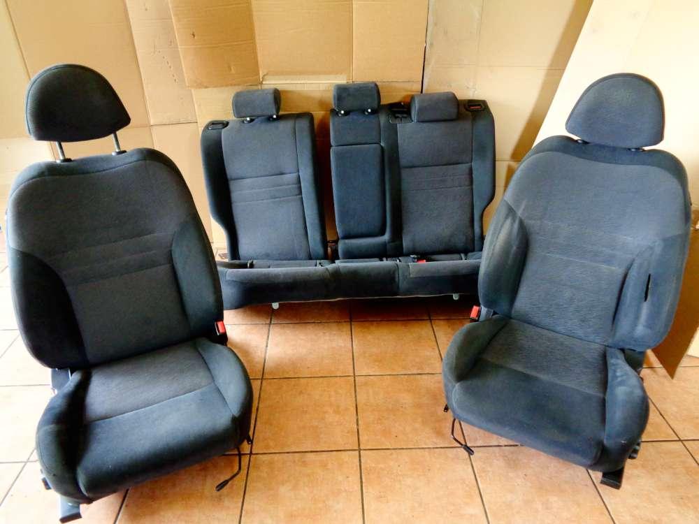 Nissan Primera P12 Kombi Bj:03 Sitze Komplett Stoff Grau Sitze