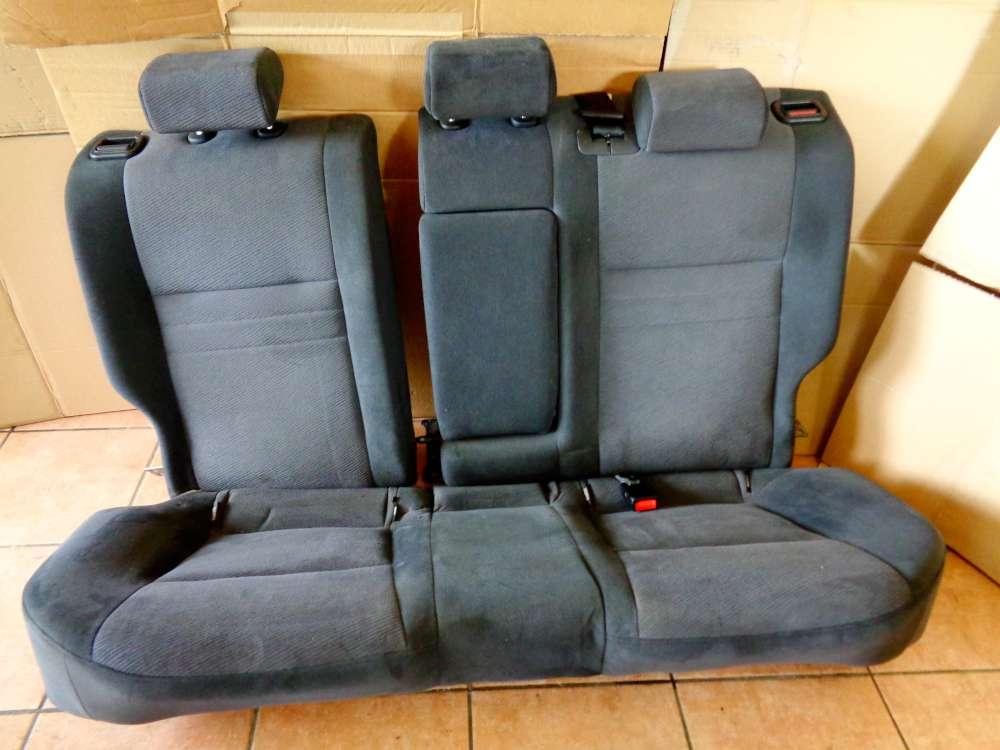 Nissan Primera P12 Kombi Bj:03 Rücksitzbank sitz Hinten Stoff Grau