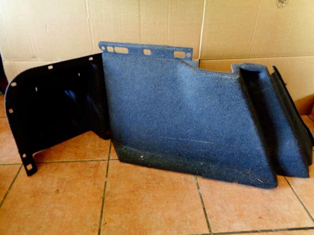 Nissan Primera P12 Kombi Bj:03 Verkleidung Kofferraum Seite Teppich Hinten Links