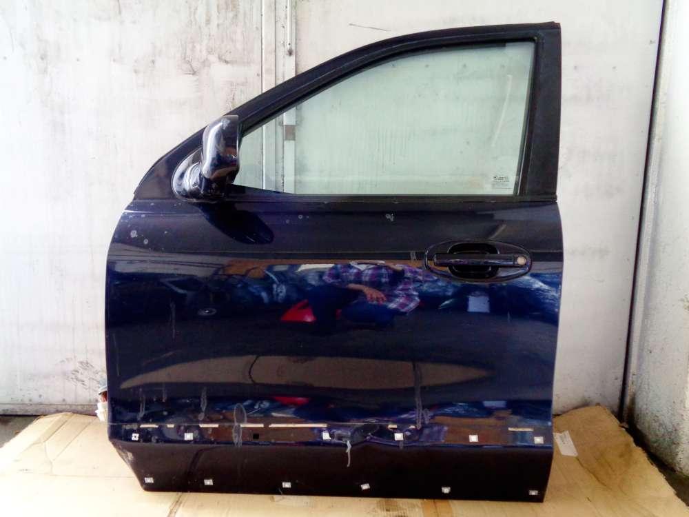 Hyundai Santa Fe I SM Bj 2004 Tür Vorne Links Dunkelblau Farbcode: LA6P