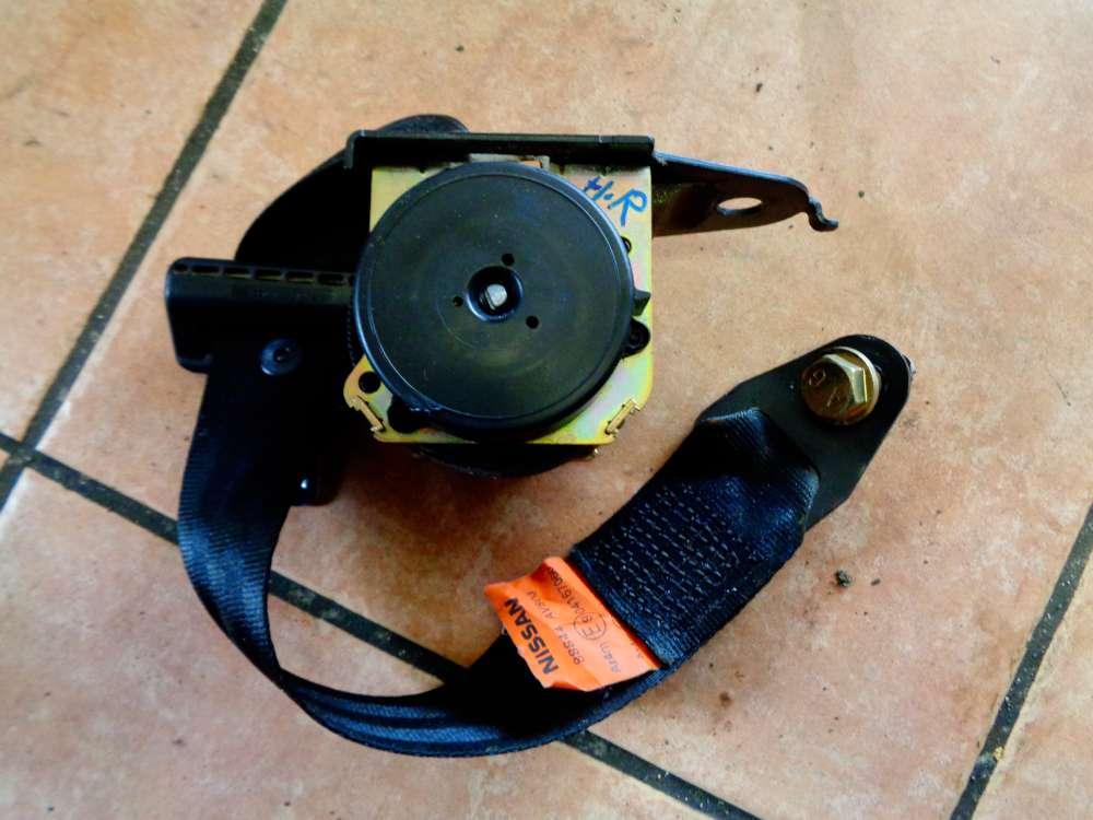 Nissan Primera P12 Bj:03 Sicherheitsgurt Gurt Hinten Rechts 88844AV800