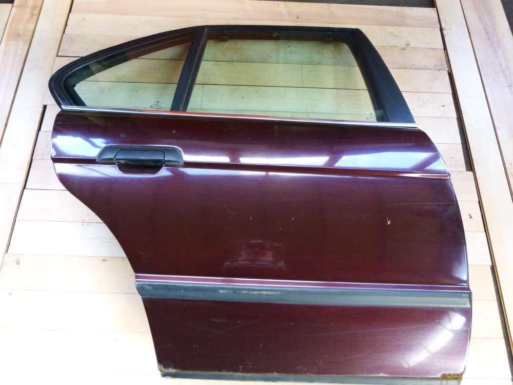 BMW 525 E34 5er Bj 1992 Tür hinten rechts Brokatrot metallic 259/3
