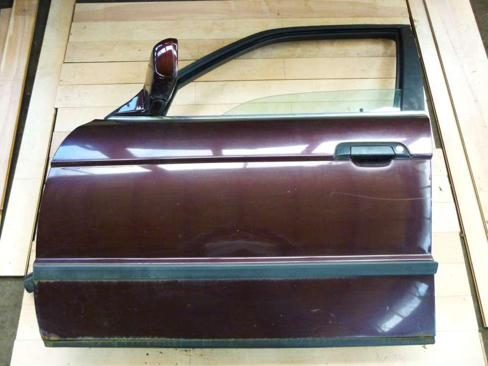 BMW 525 E34 5er Bj 1992 Tür Vorne Links  Brokatrot metallic 259/3