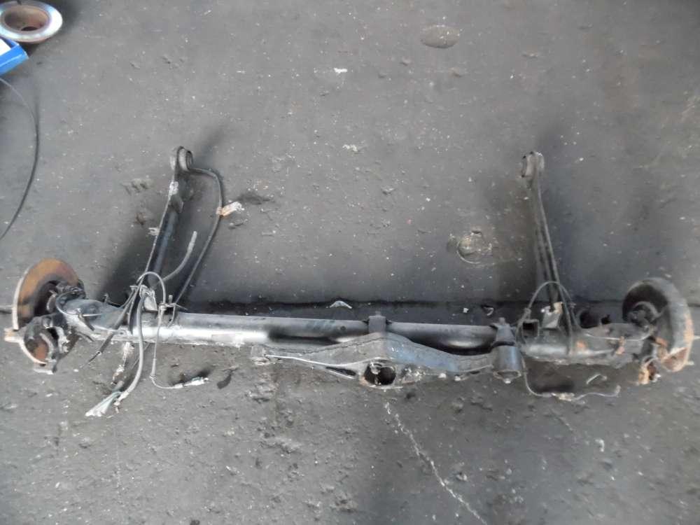 Nissan Primera P12 Hinterachse Achse Achsträger Hinten mit ABS Bremssattel