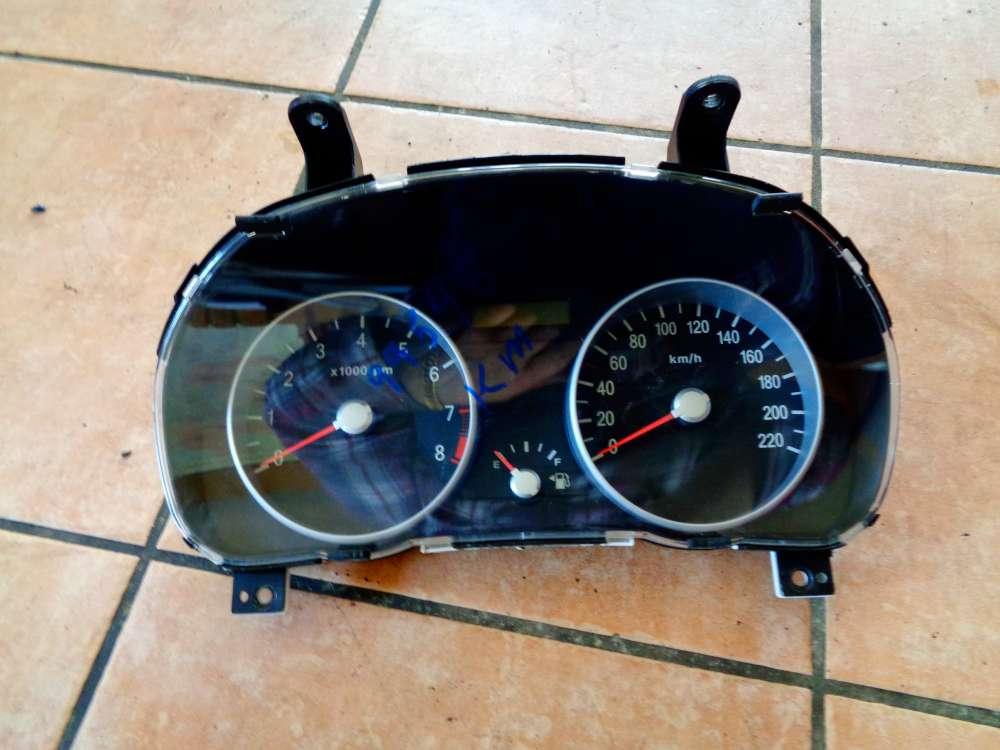 Hyundai Accent MC 1.4GL Bj:07 Tacho Cockpit 99548 KM 94003-1E160