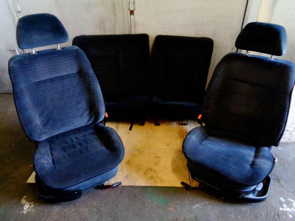 VW Golf 3 ab 1991 bis 1997 5Türen Sitze Komplett Stoff Sitze