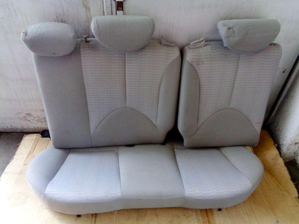 Hyundai Accent MC Bj:07 Rücksitzbank sitz Hinten Stoff