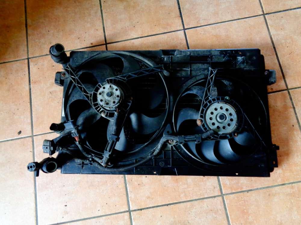 VW Golf 4 Bj:2000 1.4 16V Wasserkühler Lüftermotor Kühlerlüfter Klimakühler 1J0121253N