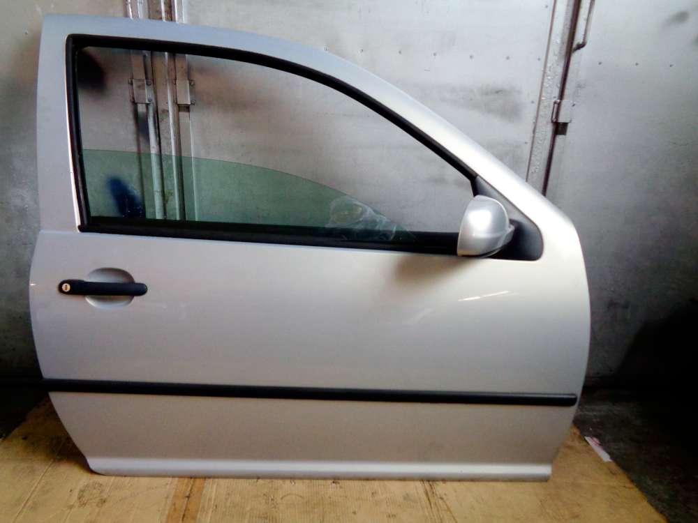 VW Golf 4 Bj:2000 3-Türer Tür Vorne Rechts Silber Farbcode: LB7Z