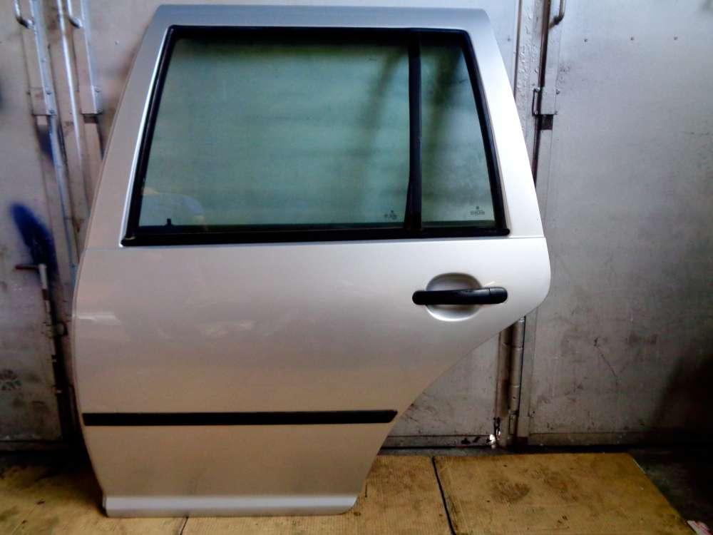 VW Golf 4 Kombi Bj:2002 Tür Hinten Links Silber Farbcode: LB7Z