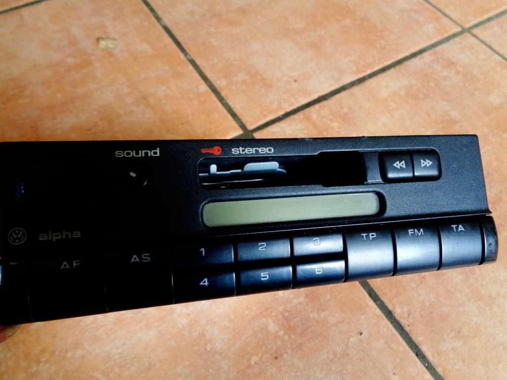 VW Golf 4 Kombi Bj:2002 Cassetten Radio 6X0035153