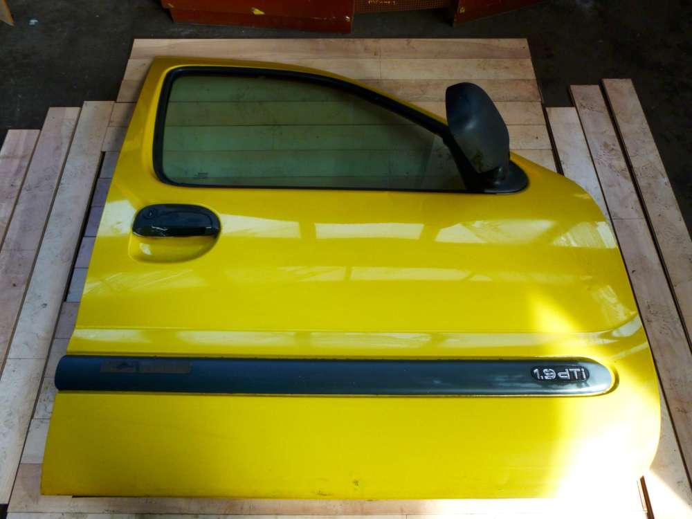 Renault Kangoo Bj 2001 Tür Vorne Rechts Gelb