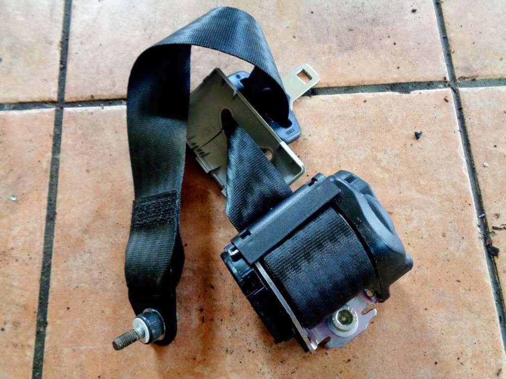 Fiat Panda 169 Bj:07 Sicherheitsgurt Hinten Rechts