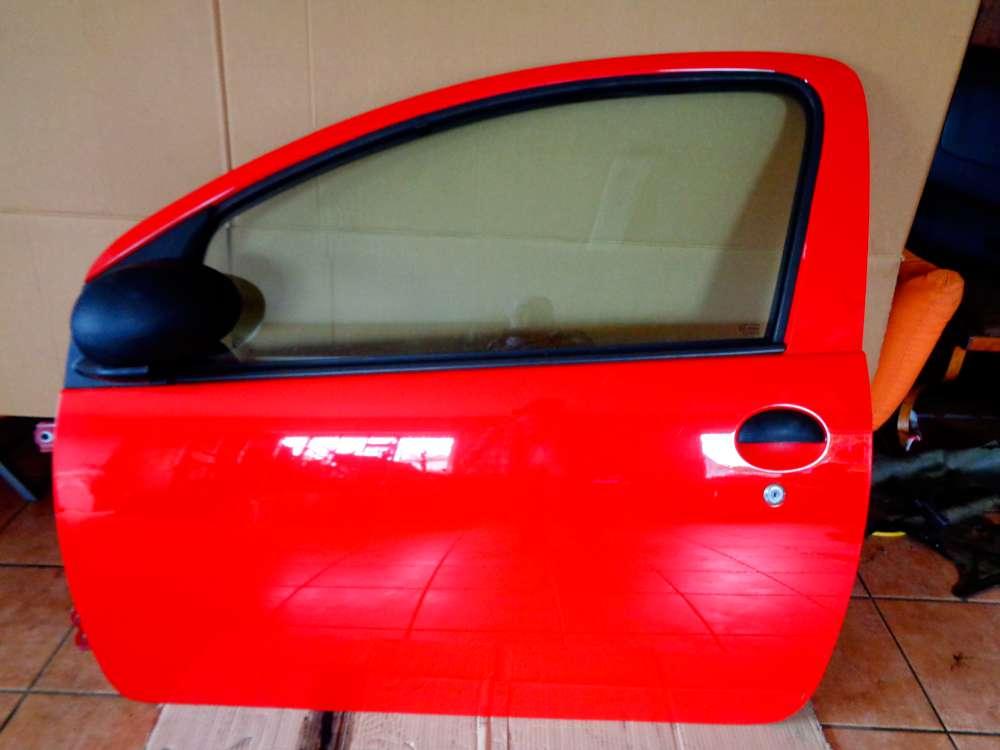 Toyota Aygo Bj:2009 3Türer Tür Vorne Links Rot 3P0