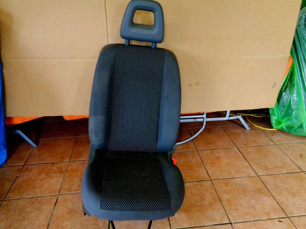 Fiat Panda 169 Bj:2007 5 Türer Beifahrersitz Sitz Vorne Rechts Stoff Sitze