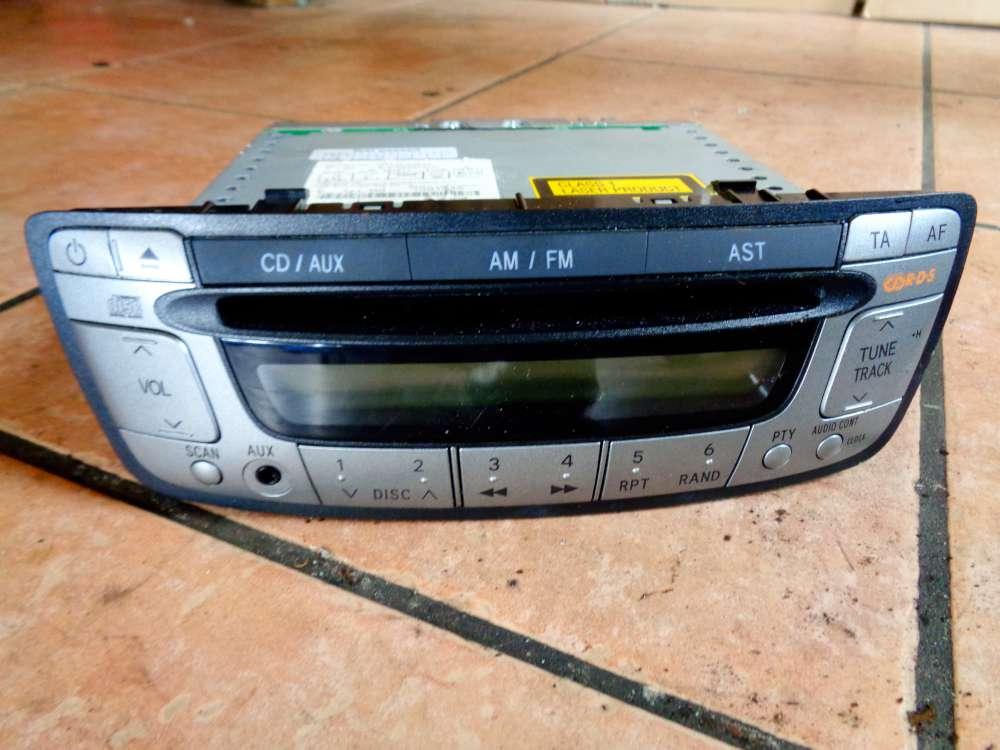Toyota Aygo, Citroen C1, Peugeot 107 CD/AUX Peugeot Bj:2009 Radio CD CD-Radio 86120-0H010 W53811