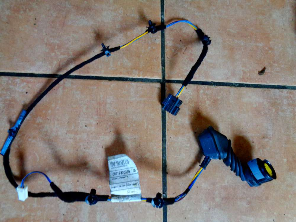 Fiat Panda 169 Bj:07 Türkabelbaum Kabelbaum Hinten Links o. Rechts 517330360
