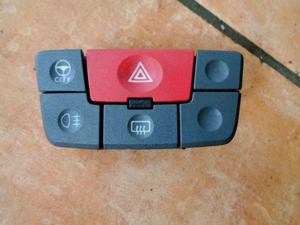 Fiat Panda 169 Bj:07 Warnblinkschalter Kombischalter 735357113