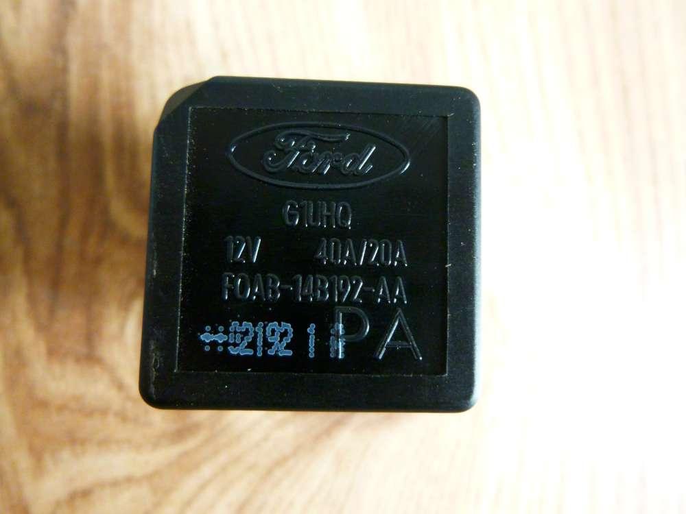 Ford Fiesta Bj.2002 Relais F0AB14B192AA