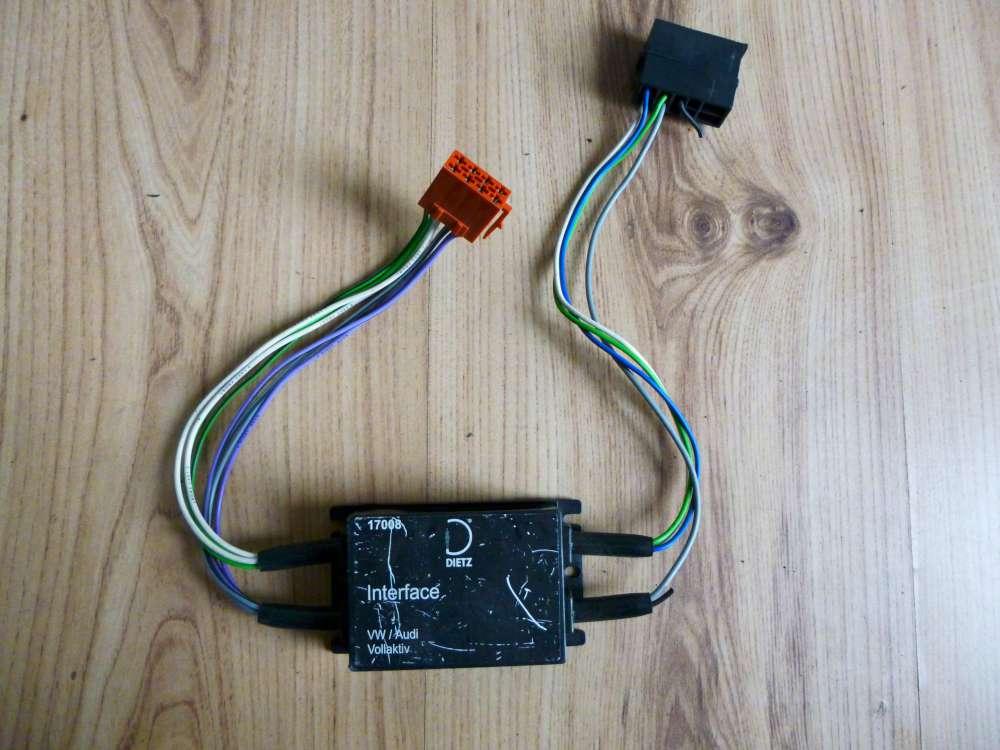DIETZ Aktivsystem Adapter 17008 Radio VW und Audi